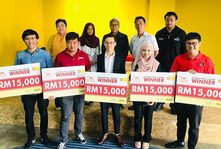Five Malaysian Entrepreneurs Win a Combined RM75,000